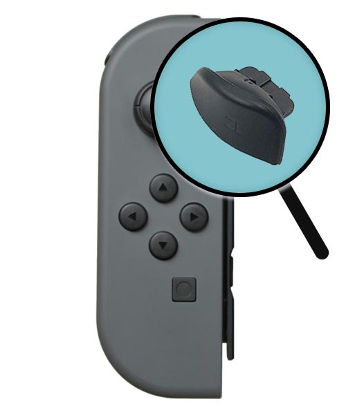 Nintendo Switch Repairs: Joy-Con ZL Button Replacement Service