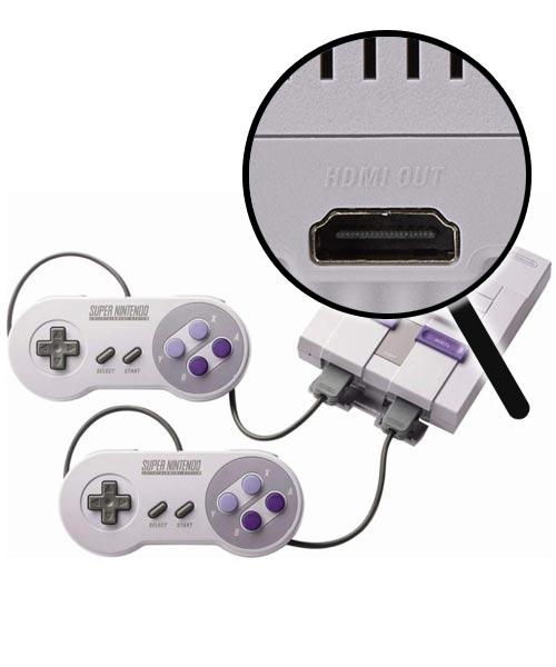 Super Nintendo Classic Edition Repairs: HDMI Port Replacement Service