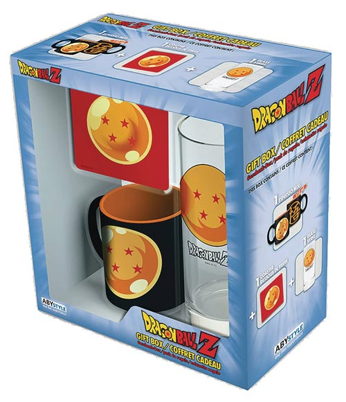 Dragon Ball Z Drinkware Gift Set