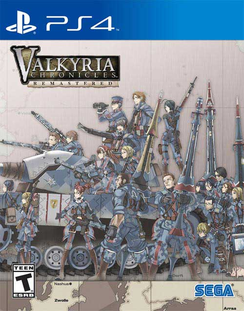 Valkyria Chronicles Remastered Steelbook Launch Edition