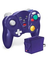 GameCube Cirka FreePad Wireless Controller Purple