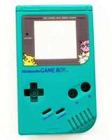 Game Boy Housing Shell Replacement Service Pokemon Teal