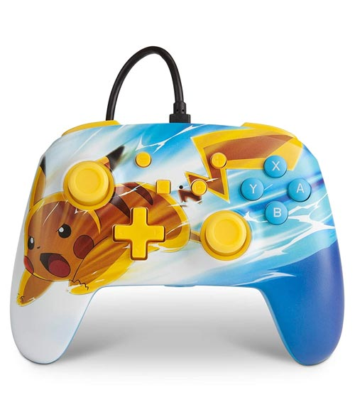 Nintendo Switch Wired Controller Pokemon Pikachu Charge