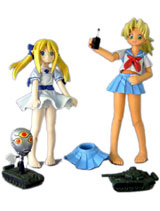 Love Hina Kaolla Su & Sarah MacDogal Action Figure