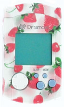 Dreamcast VMU Strawberry by Sega