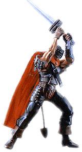 Berserk Guts Hawk Soldier Action Figure