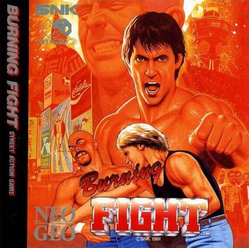 Burning Fight Neo Geo CD