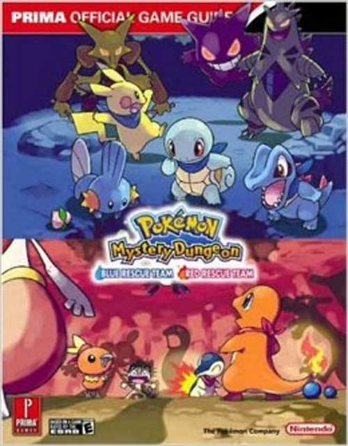 Pokemon Mystery Dungeon: Blue Rescue Team / Red Rescue Team Official Player's Guide