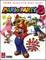 Mario Party 8 Authorized Game Guide by Prima