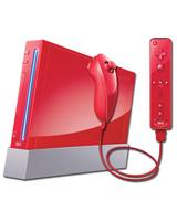 Nintendo Wii Model 1 Refurbished System Red - Grade A