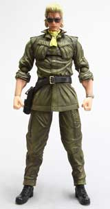 Metal Gear Solid: Peace Walker Play Arts Kai Kazuhira Miller Figure