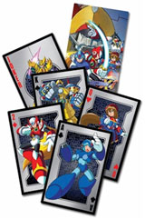 Mega Man X4 Playing Cards