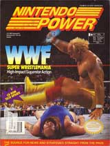 Nintendo Power Volume 35 WWF Super Wrestlemania