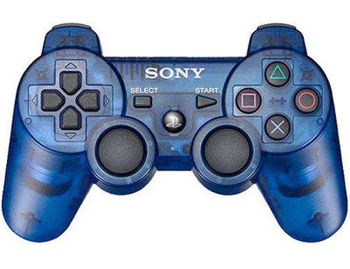 PS3 DualShock 3 Cosmic Blue Wireless Controller