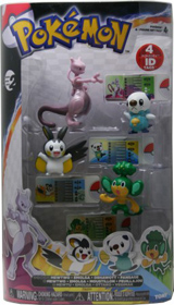 Pokemon 4 Figure Gift Pack-Mewtwo