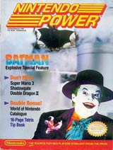 Nintendo Power Volume 10 Batman