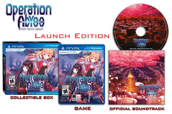 Operation Abyss: New Tokyo Legacy Limited Edition