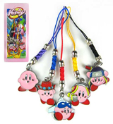 Kirby: 5 Phone Charms Set