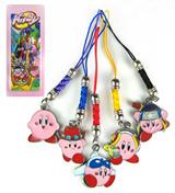 Kirby: 5 Phone Charms Set