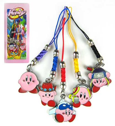 Kirby Phone Charms