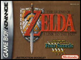 Legend of Zelda: Link to the Past Four Swords (Instruction Manual)