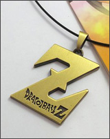 Dragon Ball Z Gold Z Necklace