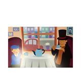 Professor Layton Digital Print