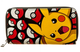 Pokemon Pikachu Zip Around Wallet