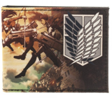Attack on Titan: Scouting Regiment Bi-Fold Wallet