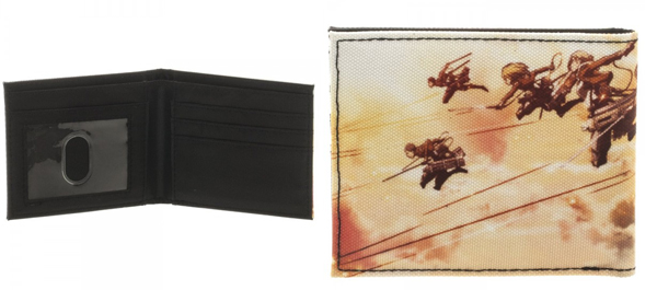 Attack on Titan Scouting Regiment Bi-Fold Wallet
