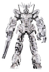 Mobile Suit Gundam GM-14 Unicorn Banshee Absolute Chogokin Figure