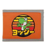 Super Mario Yoshi Kanji Bi-Fold Wallet