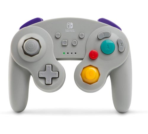 Nintendo Switch Wireless GameCube Controller: Silver