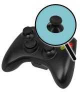 Xbox 360 Repairs: Controller Single Thumbstick Replacement Service