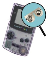 Game Boy Color Repairs: Battery Contact Replacement Service
