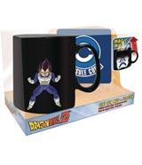Dragon Ball Z Vegeta Magic Mug & Coaster Set