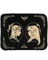 Legend of Zelda Twilight Princess Digital Fleece Throw
