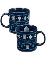 Doctor Who Ugly Sweater 20 oz Ceramic Mug