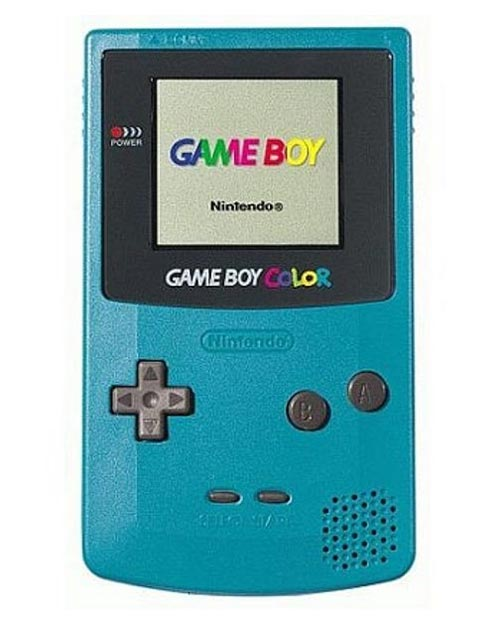 Nintendo Game Boy Color System Teal