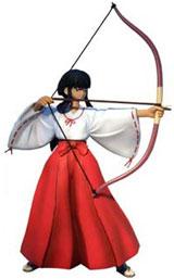 Inu-Yasha Action Figure Series 2 Kikyo