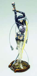 Ghost In The Shell: Sea of Wires Clear Statue