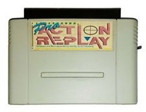 SNES Pro Action Replay by Datel