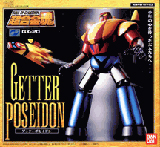 Soul of Chogokin GX-20 Getter Poseidon Die Cast Figure