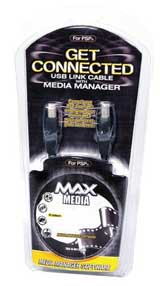 PSP Media Max w/USB Link Cable