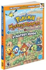 Pokemon Mystery Dungeon: Explorers of Darkness/Time Official Strategy Guide Book