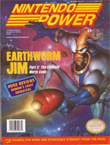 Nintendo Power Magazine Volume 67 Earthworm Jim