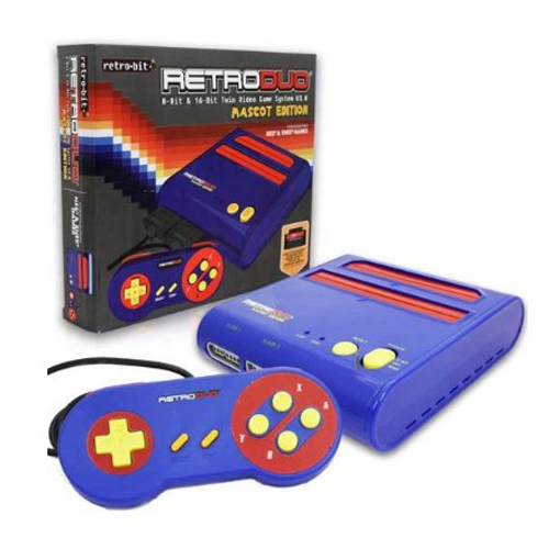 Retro Duo NES/SNES System Mascot Edition