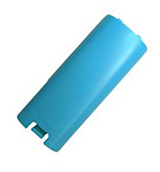 Nintendo Wii Remote Battery Cover Blue