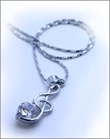 Hatsune Miku:  Music Note Necklace