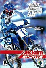 Jeremy McGrath Supercross 2000 (Instruction Manual)